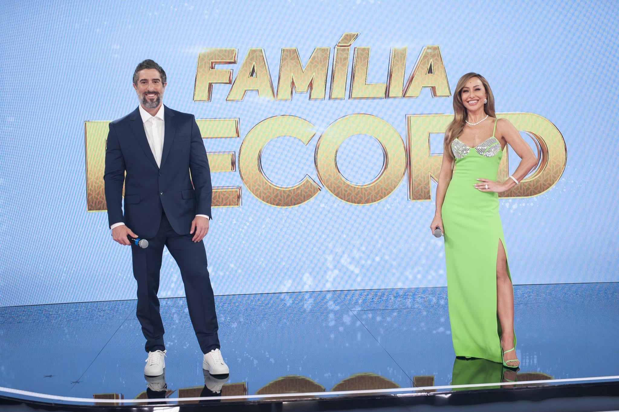 """O especial """"Família Record"""" foi uma das atrações da emissora"""