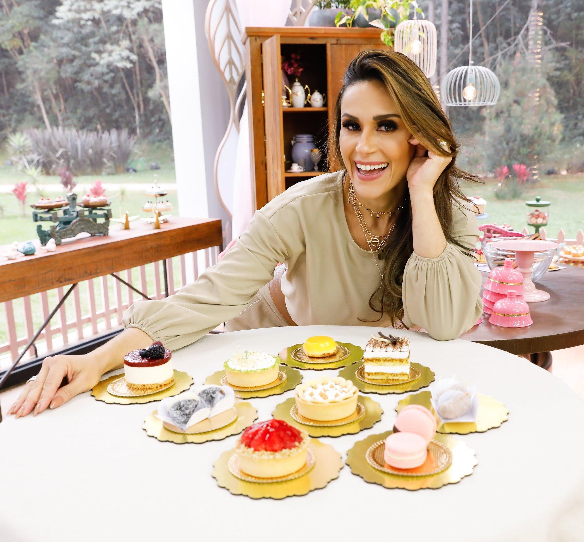 'Bake Off Brasil' transforma doces de vitrine em bolos incríveis neste sábado